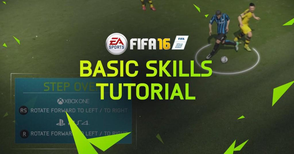 Geste technique Fifa 16
